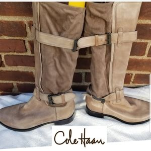 Cole Haan Nike Air riding boots 8